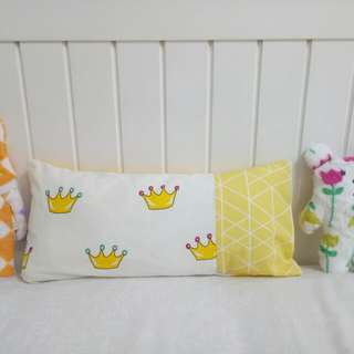 Handmade Toddler Pillow and Pillowcase Nordic Style