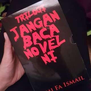 Trilogi Jangan Baca Novel Ini