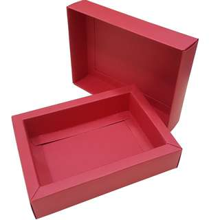 Red  Card paper type Gift box inner size  118x78x28mm, 5 pieces pack now available