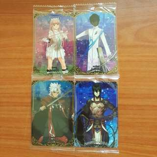🚚 Fate Grand Order Wafer Cards