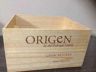 🔶紅酒木箱
