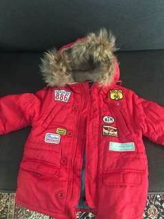 Kinds winter jacket $30 3-5years old