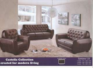 Sofa (Set 321) installment plan payment per-month SANTANA