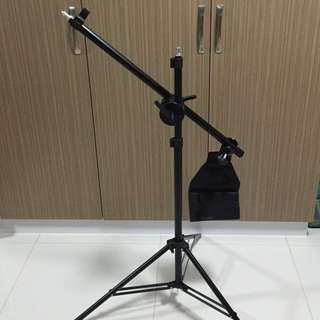 BN Studio Boom Arm Kit With 2m Air Cushion Light Stand