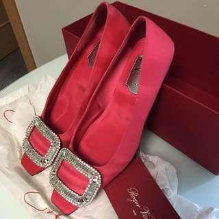 Roger Vivier 水晶頭鞋