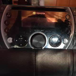 Toyota side panel and head unit