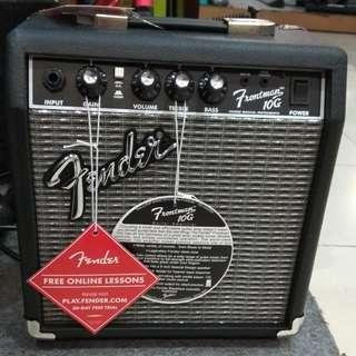 Fender Ampli Guitar Frontman 10G 10W 6 Inch Bunga 0% Dp 0% Cuma Adm 199.000