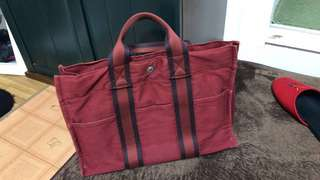 Authentic Hermes Small Tote Bag