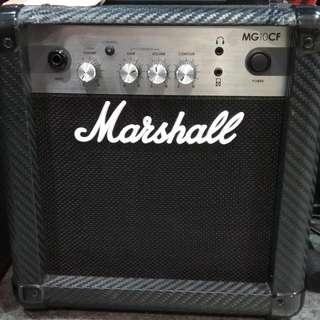 Marshall Guitar Ampli 10W MG-10CF Bunga 0% Dp 0% Cukup Admin 199.000