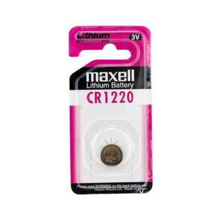 CR1220 Maxell Cell 3V