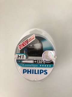 Philips H1 X-tremeVision bulbs