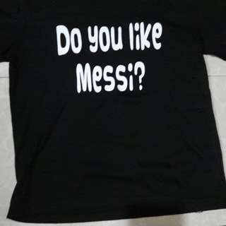Do you like messi shirt