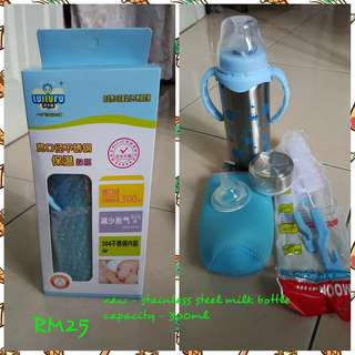 Stainless Steel Feeding Bottle / Thermo Bottle