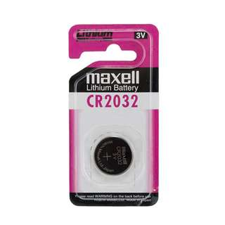 Maxell CR2032 3V Coin Cell Battery