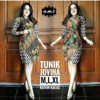 Dress Batik Tunik Jovina