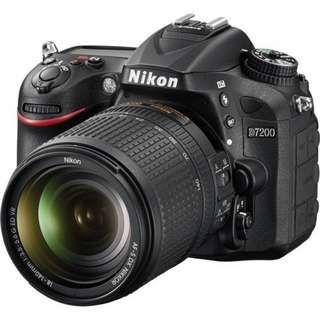 Nikon D7200 DSLR Camera With 18-140mm Kredit Kamera