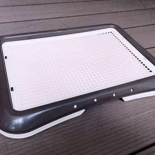 Richell Training Step Pee Tray with Removable Mesh