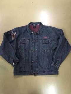 FUBU vintage denim jacket 牛仔外套
