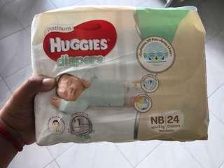 Huggies Diaper x2 packet