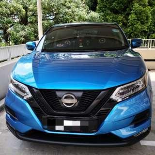 Plasti dip your car 🚗 Plastidip Nissan Qashqai (Dechrome)