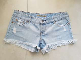 AEO Ripped Shorts