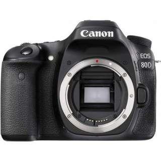 Bisa Di Cicilan Tanpa CC Canon EOS 80D Body Only