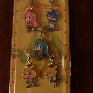 Vocaloid keychains