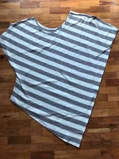 Stripes Light Blue Blouse