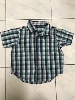 Mothercare Short Sleeve Shirt 12-18mo