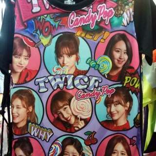 TWICE CANDY POP SHIRT