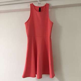 factorie coral pink dress