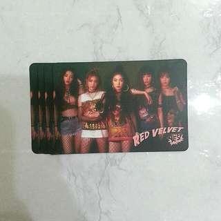 Red Velvet 32期yes card
