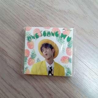 Wanna One 邕聖祐memo pad
