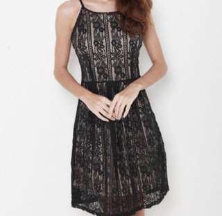 Evening Lace Dress S