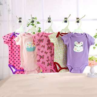 5 Pc Baby Boy and girl Romper 3M-24M
