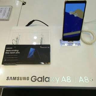 Samsung A8 Promo 0.99 tenor 9 bulan cicilan