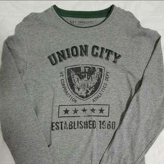 Grey union city shirt