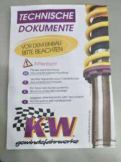 Kw cancellation kit for electric damping