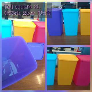 Tall square Round