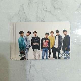 iKON 32期yes card