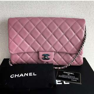 Authentic Chanel Timeless Flap Bag