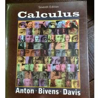 CALCULUS BY ANTON BIVENS DAVIS