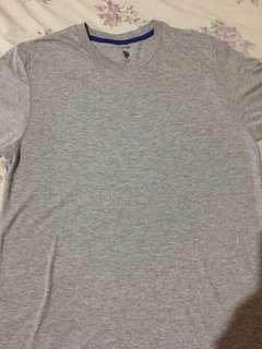 US Polo gray shirt