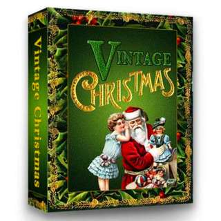 Vintage Christmas Countdown (91 Page Mega Full Colored eBook)