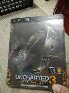 PS3, Uncharted 3, Drake's Deception 3D