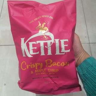 Kettle 楓糖煙肉味薯片