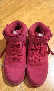 Nike Air - Red Suede