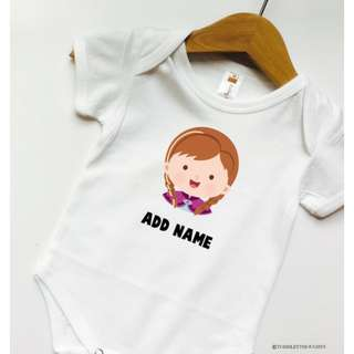 Customized BabyGirl Romper!