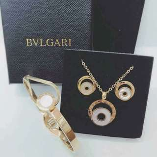 Bvlagari Jewelry Set COD #004