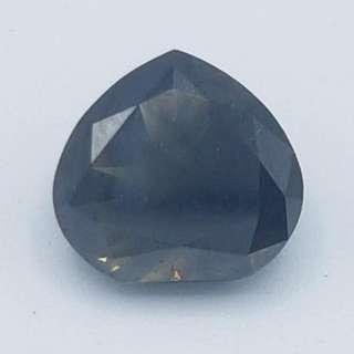 Natural 1.87 Carat Fancy Dark Grey Diamond